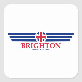 Pegatina Cuadrada Brighton
