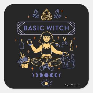 Pegatina Cuadrada Brujas básicas - Chew de Camilo
