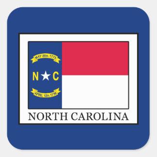Pegatina Cuadrada Carolina del Norte