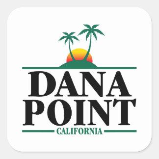 Pegatina Cuadrada Dana Point California