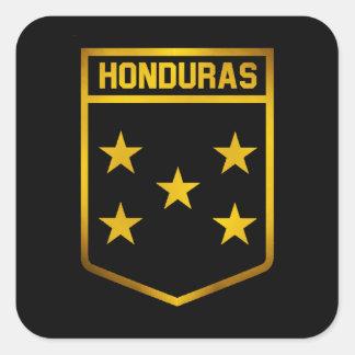 Pegatina Cuadrada Emblema de Honduras