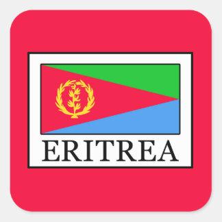 Pegatina Cuadrada Eritrea
