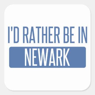 Pegatina Cuadrada Estaría bastante en Newark CA