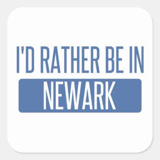 Pegatina Cuadrada Estaría bastante en Newark NJ