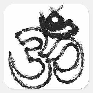 Pegatina Cuadrada hindú