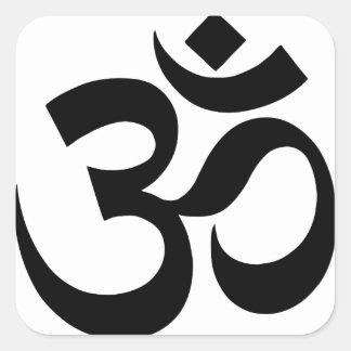 Pegatina Cuadrada hindu3
