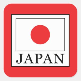 Pegatina Cuadrada Japón