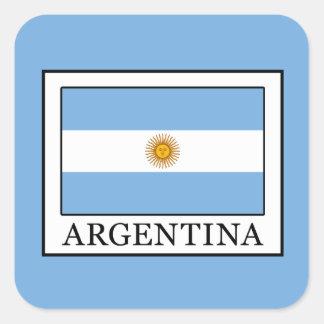 Pegatina Cuadrada La Argentina