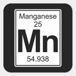 Pegatina Cuadrada Manganeso - Manganeso