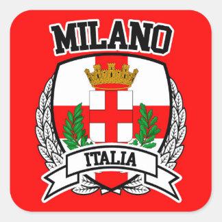 Pegatina Cuadrada Milano