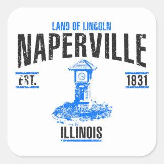 Pegatina Cuadrada Naperville