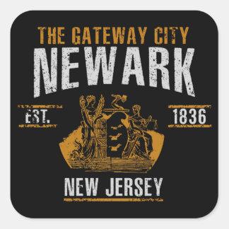 Pegatina Cuadrada Newark