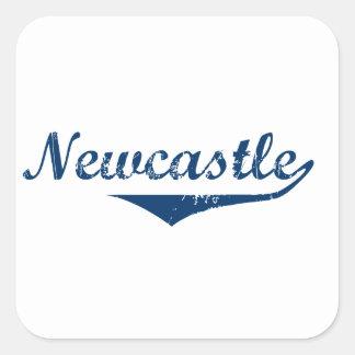 Pegatina Cuadrada Newcastle