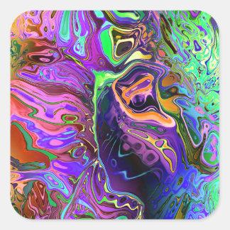 Pegatina Cuadrada oct16_ff_distort_paint_6500