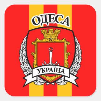 Pegatina Cuadrada Odessa