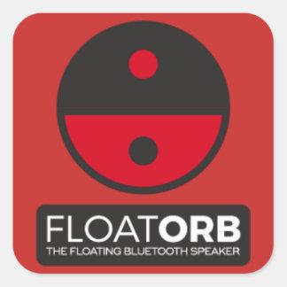 Pegatina Cuadrada Pegatinas de FloatOrb