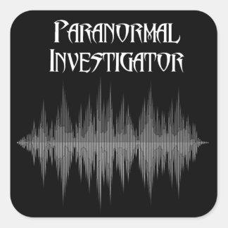 Pegatina Cuadrada Pegatinas paranormales de Soundwave del