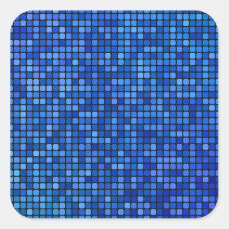 Pegatina Cuadrada pixel cuadrado
