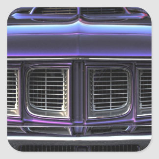 Pegatina Cuadrada Plymouth 1971 'Cuda