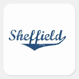 Pegatina Cuadrada Sheffield