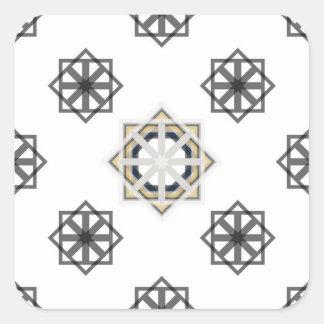 Pegatina Cuadrada spirograph-multiple-shapes3-35