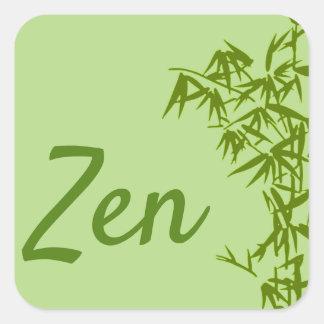 Pegatina Cuadrada Sticker clásico Zen