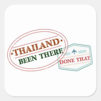 Pegatina Cuadrada Tailandia allí hecho eso