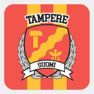 Pegatina Cuadrada Tampere