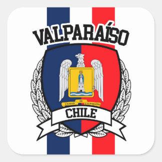 Pegatina Cuadrada Valparaíso