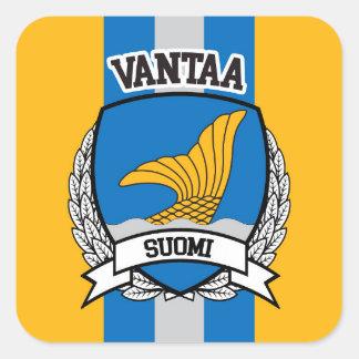 Pegatina Cuadrada Vantaa