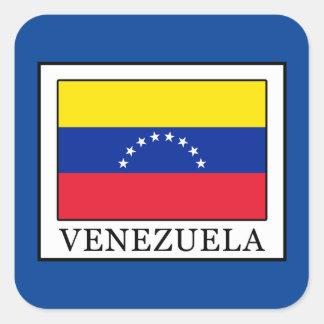 Pegatina Cuadrada Venezuela