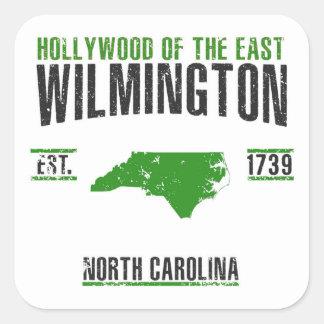 Pegatina Cuadrada Wilmington