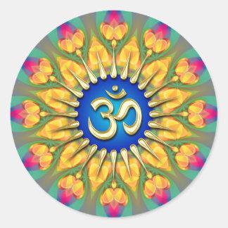 Pegatina curativo espiritual de la energía audaz