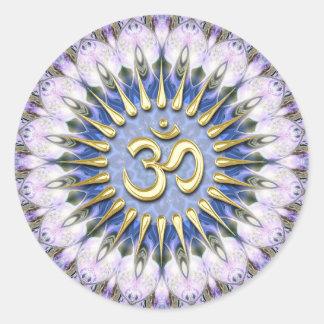Pegatina curativo espiritual de la energía del