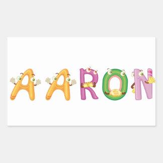 Pegatina de Aaron