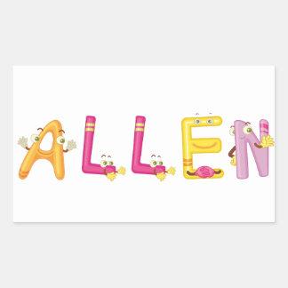 Pegatina de Allen