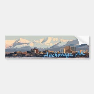 Pegatina de Anchorage Pegatina Para Coche