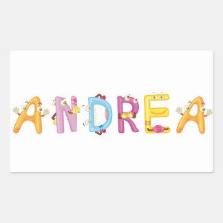 Pegatina de Andrea