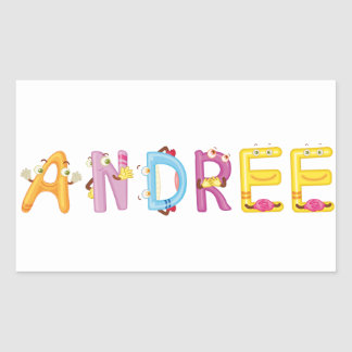 Pegatina de Andree