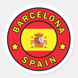 Pegatina de Barcelona España