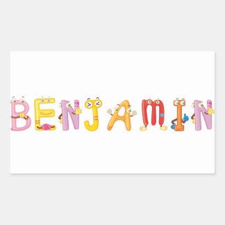 Pegatina de Benjamin