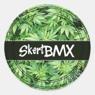 Pegatina de BMX