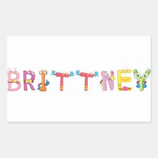 Pegatina de Brittney