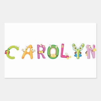 Pegatina de Carolyn