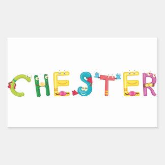 Pegatina de Chester