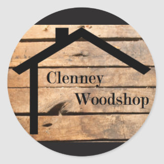Pegatina de Clenney Woodshop