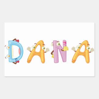 Pegatina de Dana