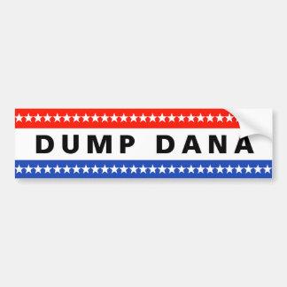 Pegatina de Dana de la descarga Pegatina Para Coche