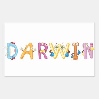 Pegatina de Darwin