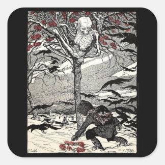Pegatina de Der Tod im Baum